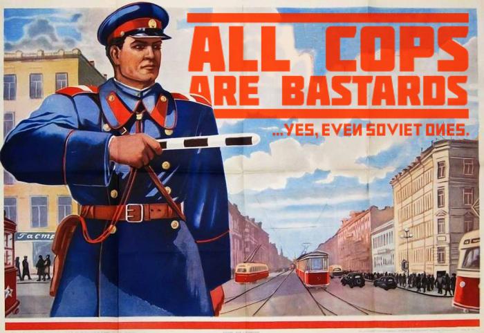 ACAB, even soviet ones.
