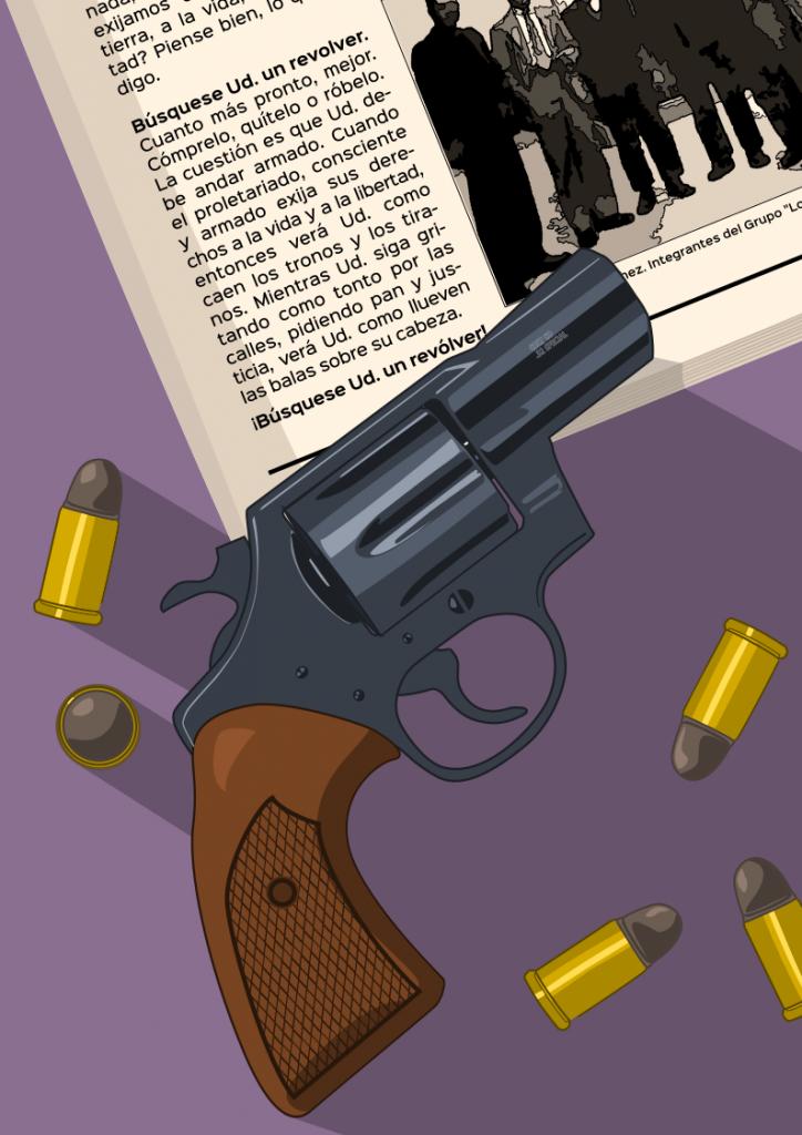 Búsquese Ud. un revólver