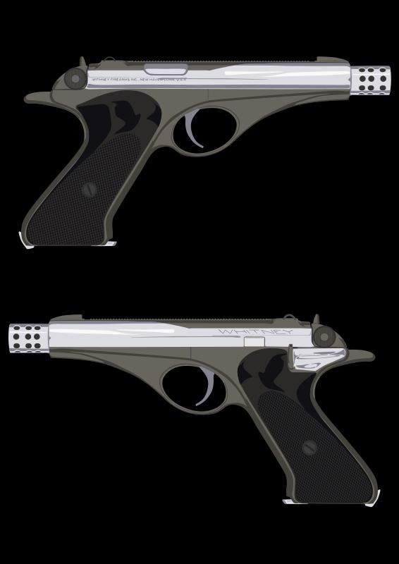 Pistola Whitney Wolverine